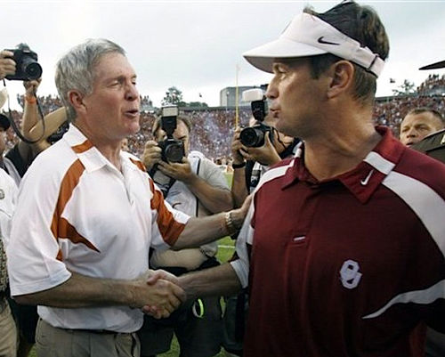 Mack Brown Bob Stoops