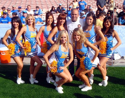 Scott Wolf kept the streak alive Saturday at the USC-UCLA game.
