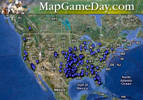 MapGameDay.com