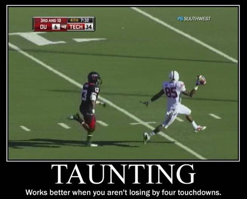 Taunting