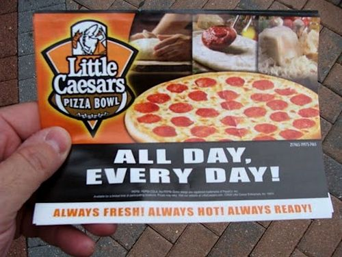 Little Caesars Pizza Bowl 039
