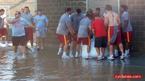 Iowa State flood