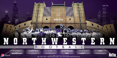 Northwestern-Wildcats-college-football-poster