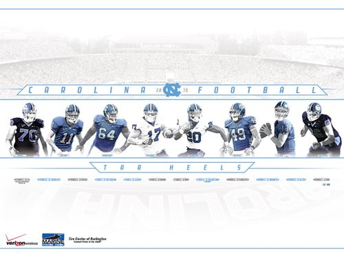 Tar-Heels-North-Carolina-college-football-poster-schedule-2010
