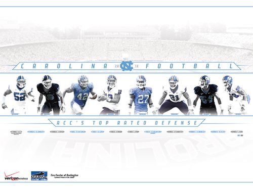 North-Carolina-Tar-Heels-defense-college-football-poster-schedule-2010