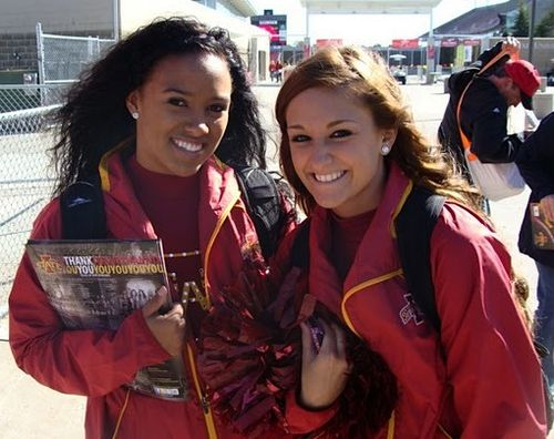 Iowa State Cheerleaders