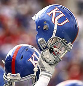 Kansas helmet