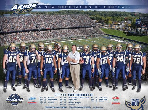 Akron-Zips-college-football-poster-schedule-2010