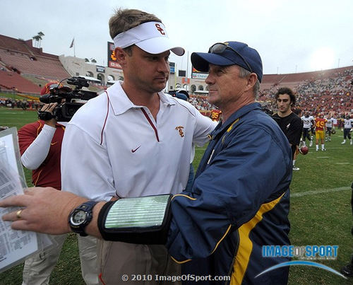 Lane Kiffin Jeff Tedford