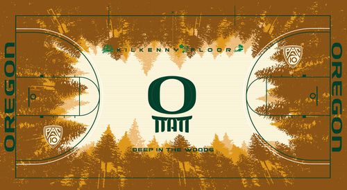 Oregon Ducks basketball court