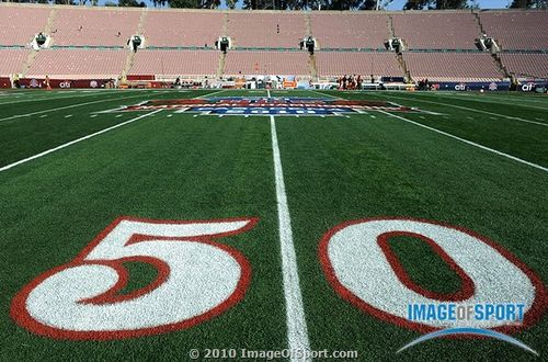 50 yard line rose bowl