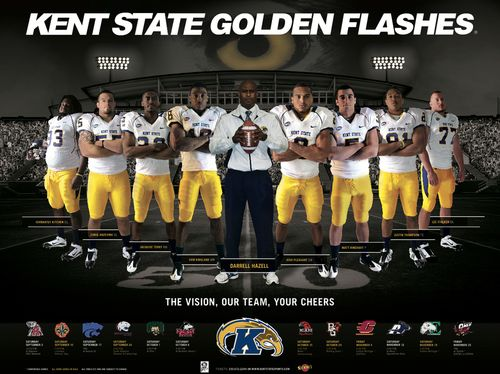 Kent State Golden Flashes Poster Schedule 2011