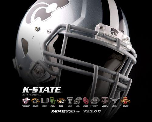 Kansas State Wildcats poster schedule 2011
