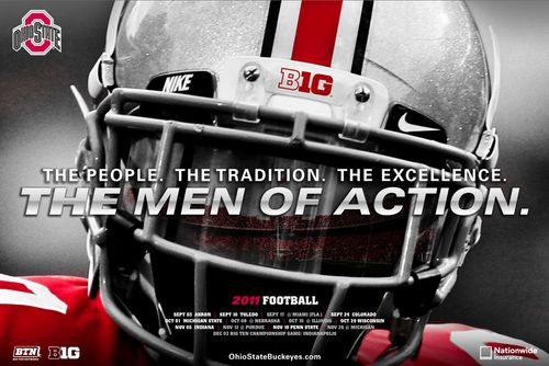 Ohio State 2011 poster schedule