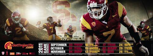 T.J. McDonald USC poster schedule 2011