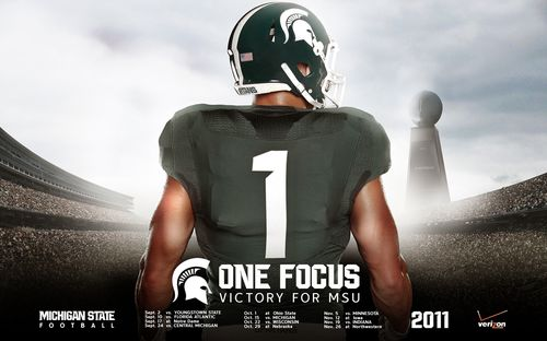 Michigan State 2011 poster schedule