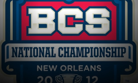 BCS title game 2012