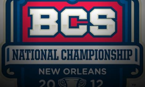 BCS title game 2012