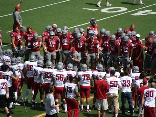 2012 Washington State Spring Football Game 111