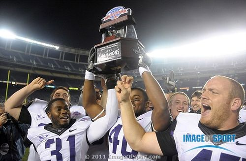 Poinsettia Bowl trophy