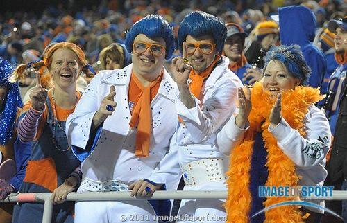 Boise State fans