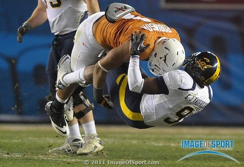 Holiday Bowl tackle