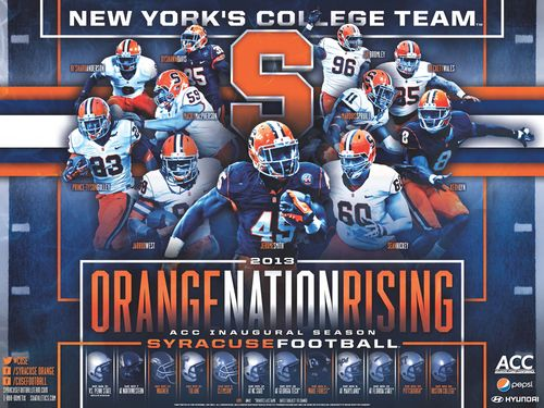 Syracuse 2013 poster schedule