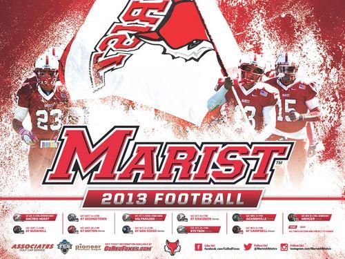 Marist 2013 football poster
