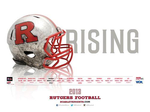 Rutgers 2013 poster schedule