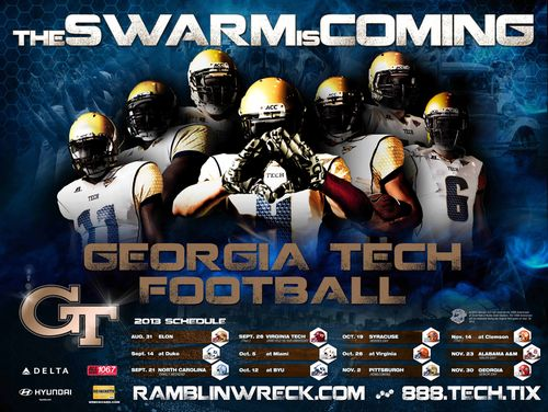Georgia Tech 2013 poster schedule