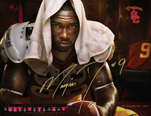 Marqise Lee USC 2013 poster schedule