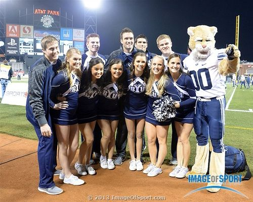 BYU Cheerleaders