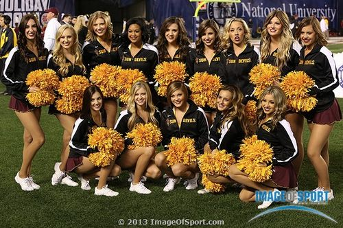Arizona State cheerleaders