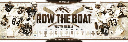 Western Michigan poster schedule 2014