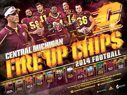 Central Michigan 2014 poster schedule