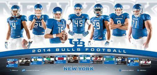 Buffalo Bulls 2014 poster schedule