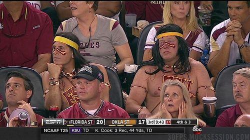 Florida State Seminoles fans