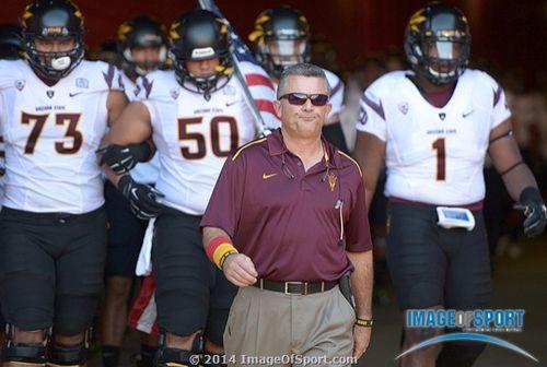Todd Graham Arizona State Sun Devils