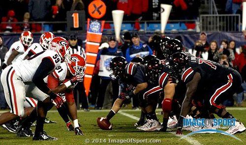 Louisville Cardinals Georgia Bulldogs Belk Bowl