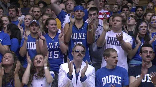 Duke Blue Devils fans