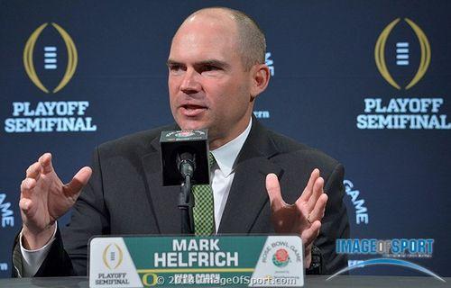 Mark Helfrich Oregon Ducks