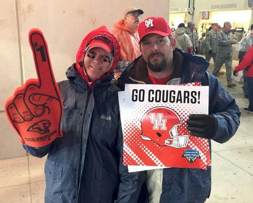 Cougar fans