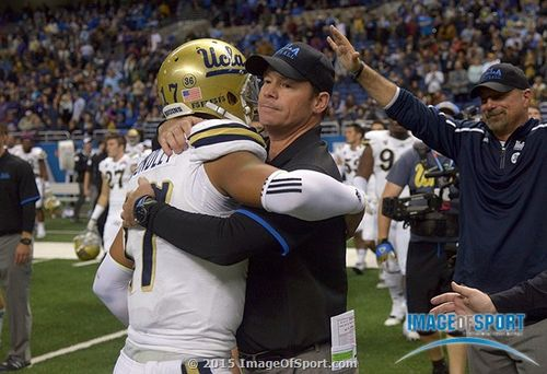 Brett Hundley Jim Mora UCLA Bruins