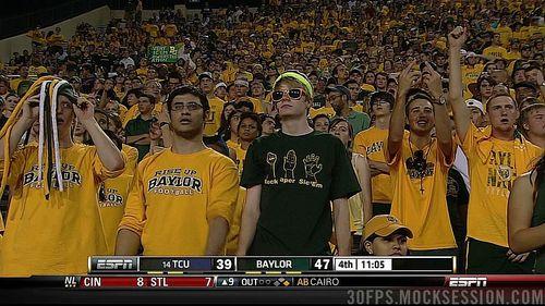 Baylor Bears fans