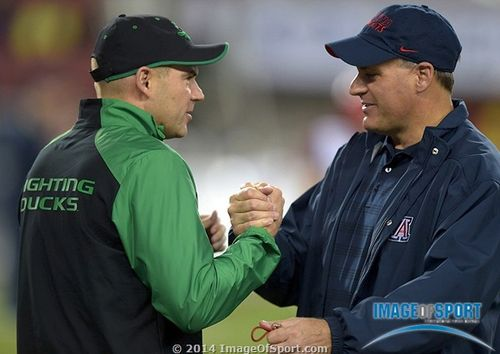 Mark Helfrich Rich Rodriguez