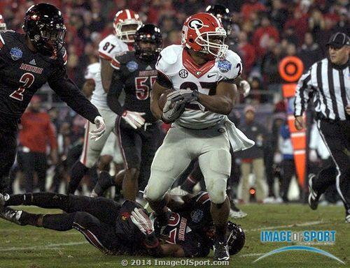 Georgia Bulldogs Nick Chubb
